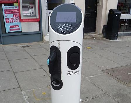 Charging port in London. Image: commons.wikimedia.org