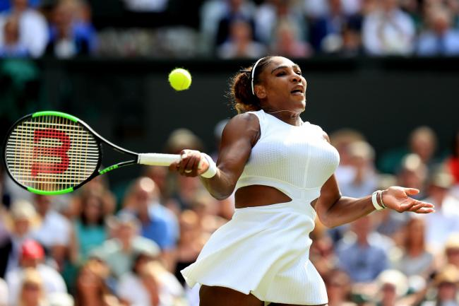 Serena Williams needed less than an hour to win her semi-final