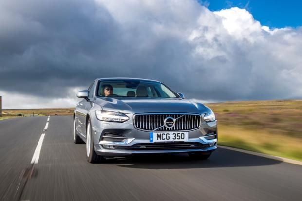 Road test of the Volvo S90 T5 R-Design Pro