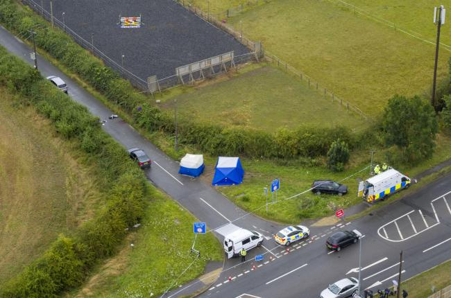 Ten people have been arrested on suspicion of murder and are currently in police custody at various police stations across the Thames Valley. Image: Steve Parsons/PA Wire