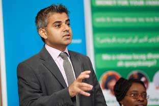 "Surrey Comet: ""No race problem"" . . . Tooting MP Sadiq Khan"