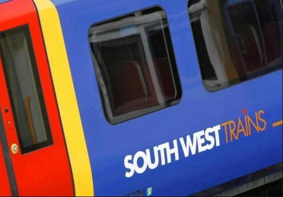 South West train services are delayed this morning
