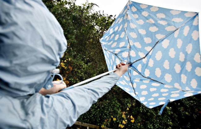 Rain and strong winds are forecast all weekend