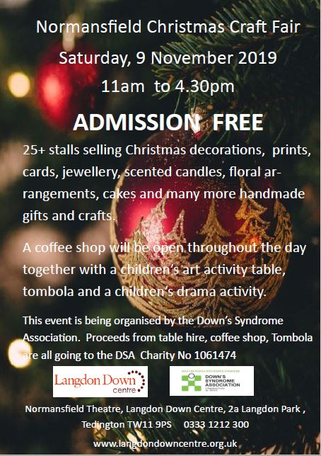 Normansfield Christmas Craft Fair