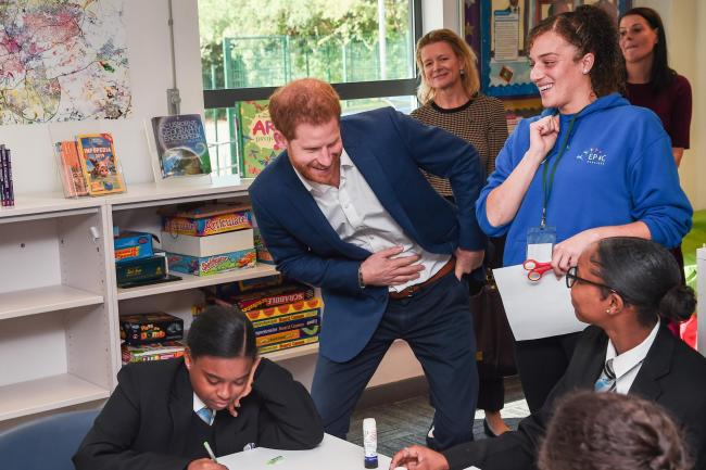 Duke of Sussex visits Nottingham