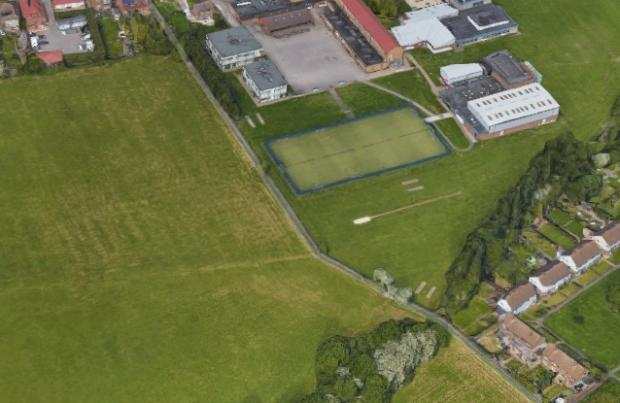 Surrey Comet: View of proposed site near Epsom and Ewell High School (Image via Google Maps)