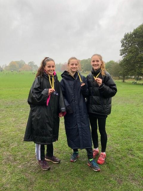 Surrey Comet: Hercules Wimbledon's silver medal-winning under 15 girls team