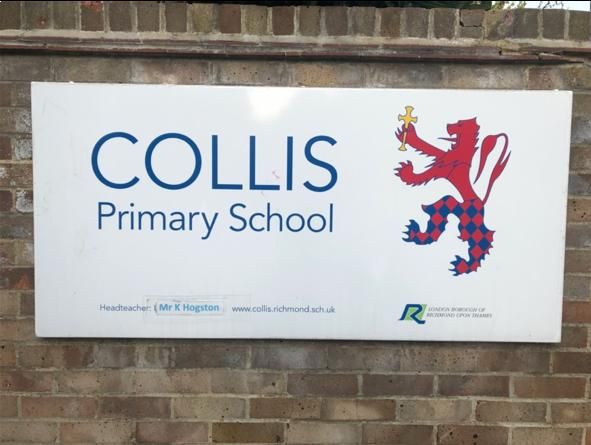 Collis School is situated on Fairfax Road, Teddington.