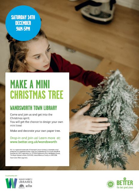 Free - Make a mini Christmas tree!