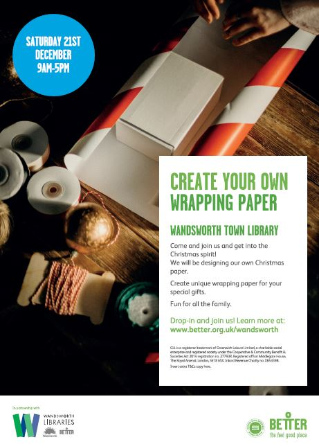 Free - Create your own Christmas Wrapping Paper