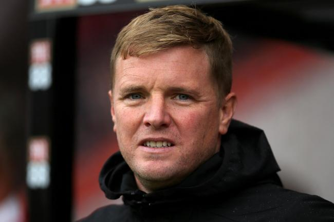 Eddie Howe feels Bournemouth are in danger of going down