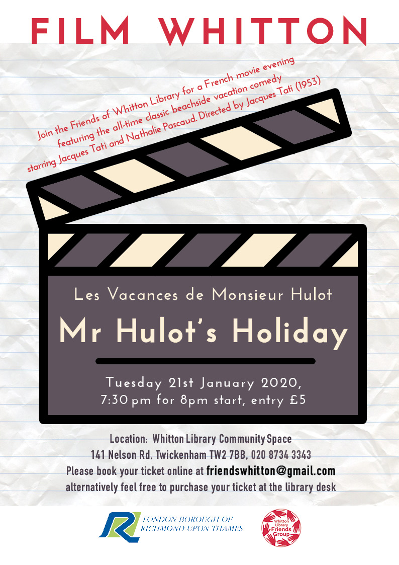 FILM WHITTON: MR HULOT'S HOLIDAY