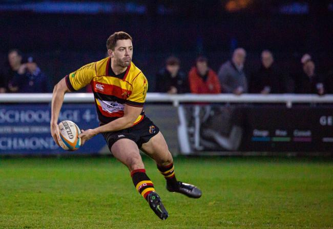 Richmond's Hodgson ready for Moseley Challenge