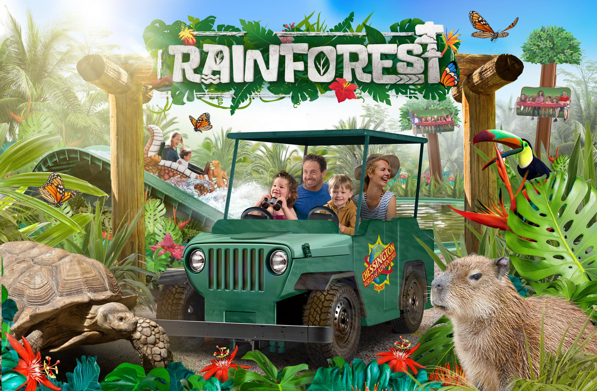 Answer the call of the wild at Chessington in 2020