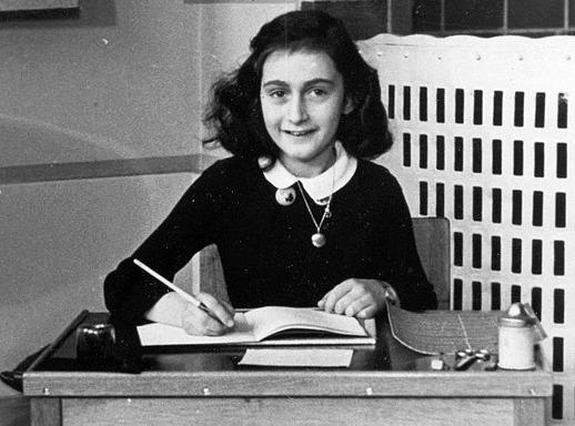 Anne Frank. Image via commons.wikimedia.org