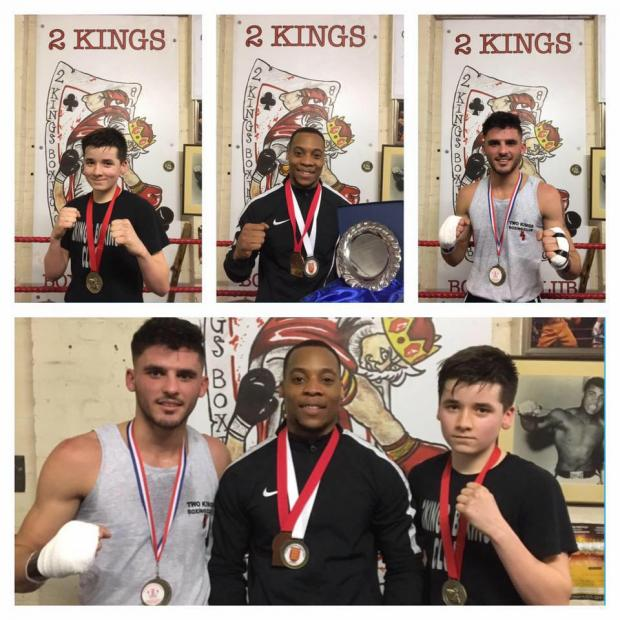 Surrey Comet: Two Kings Boxing Club via Facebook