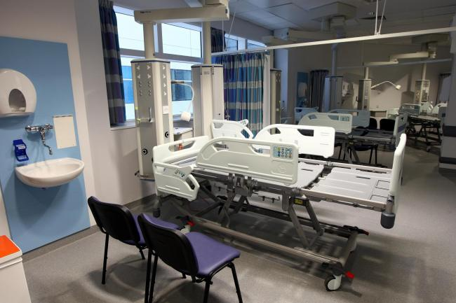 An intensive care ward