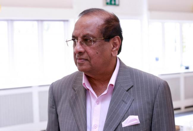 Consultant geriatrician Anton Sebastianpillai, the doctor who specialised in treating the elderly has died after testing positive for Covid-19. Image: Family Handout/PA Wire