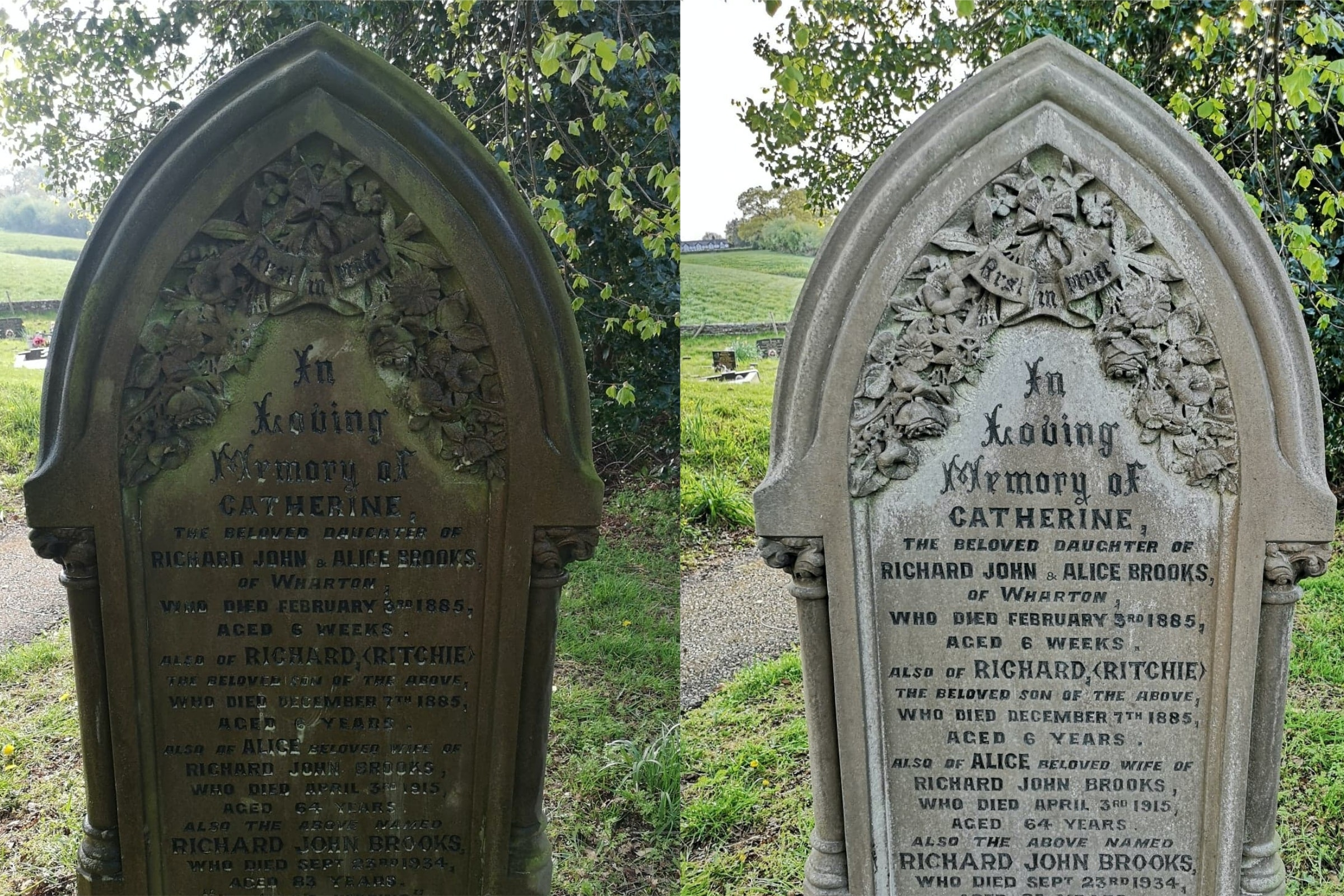 Family Use Daily Lockdown Exercise To Clean Strangers Gravestones Surrey Comet