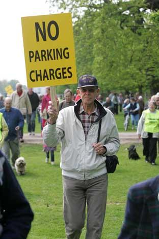 March: Protesters will gather to fight parking charges in Richmond and Bushy Park