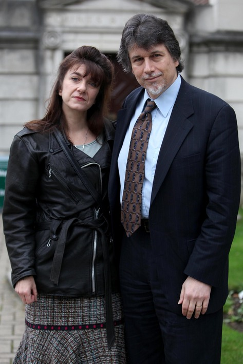 Dr Fredrics and his wife Lori at an earlier hearing