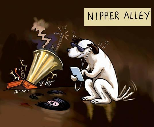 Kingston's Toilet Gallery alley named after HMV dog Nipper