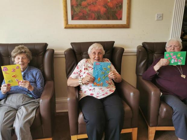 Surrey Comet: Residents at Milner House care home in Leatherhead