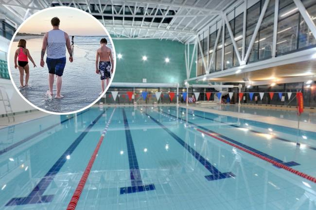 The Rainbow Leisure Centre will reopen with anti-Covid precautions in place from Saturday. Image:  James Morgenstern