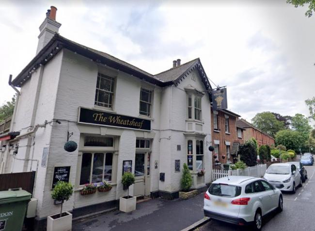 The Wheatsheaf Pub in Ewell village. The owners are now looking to sell the establishment.