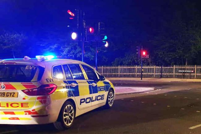 The Met said that two people arrested after the incident have been bailed. Image: Met Police