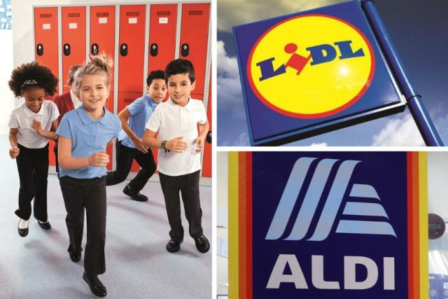 Aldi and Lidl begin school uniform sale - with clothes from 50p. Pictures: Lidl/Newsquest