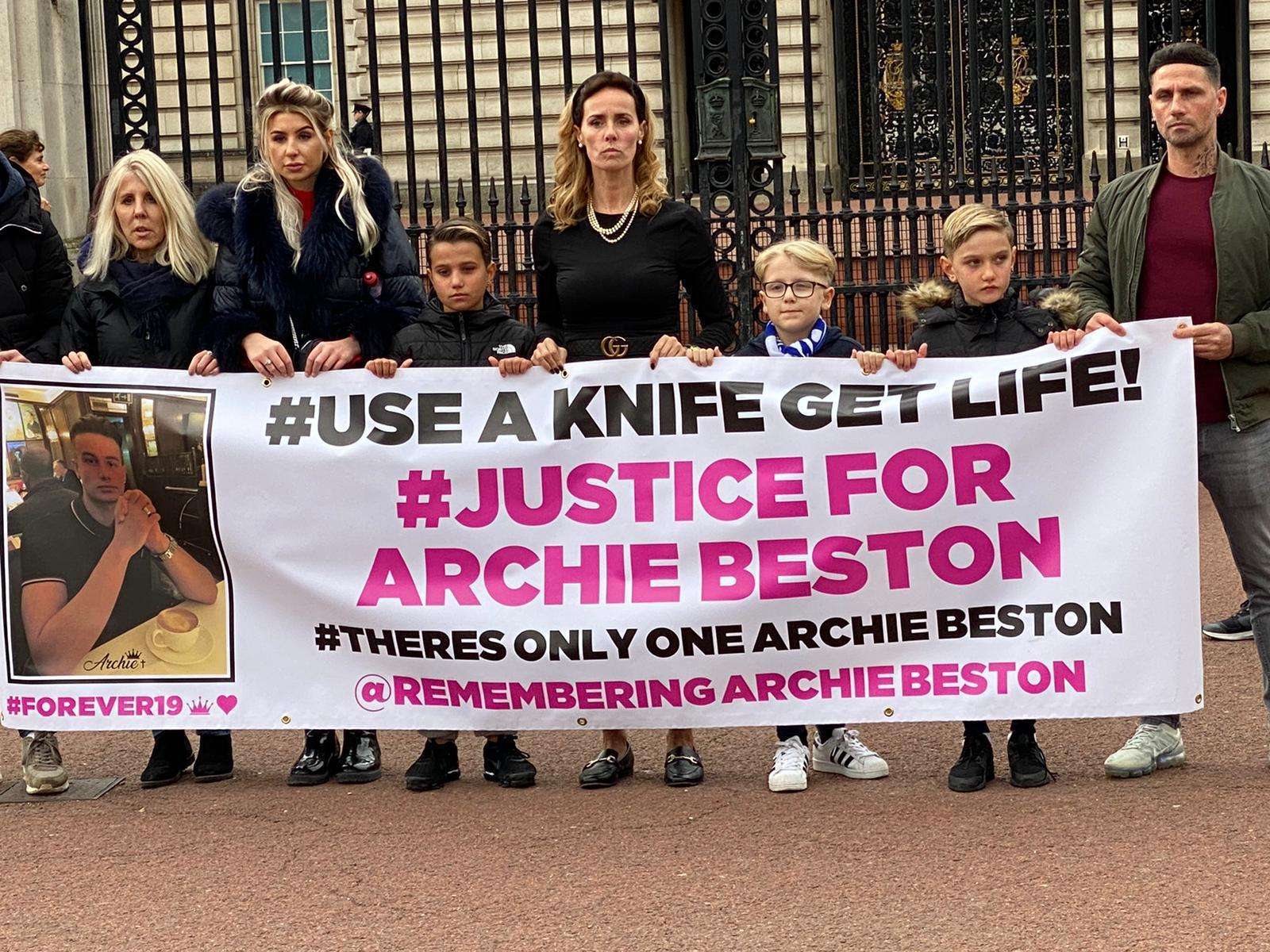 archie beston s family demand justice on eve of sentencing surrey comet archie beston s family demand justice