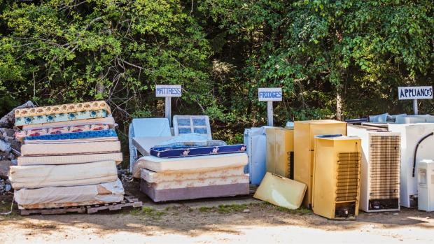 Surrey Comet: Many mattress components can be recycled or repurposed. Credit: Getty Images / cnicbc