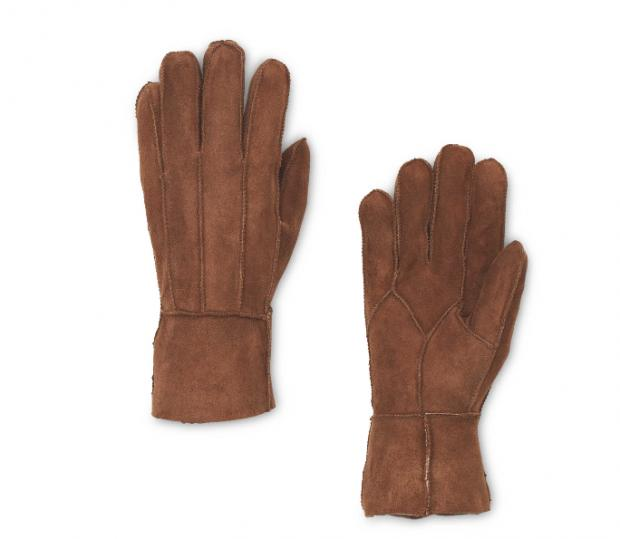 Surrey Comet: Ladies' Brown Lambskin Gloves. Picture: Aldi