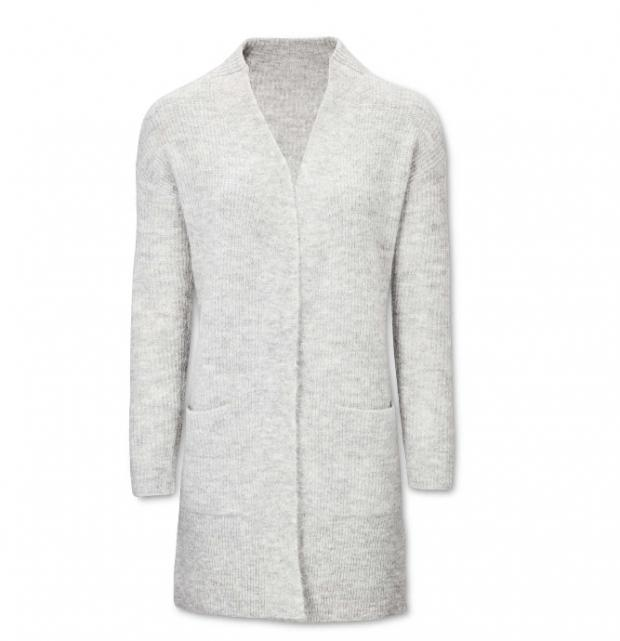 Surrey Comet: Avenue Ladies' Grey Cardigan. Picture: Aldi