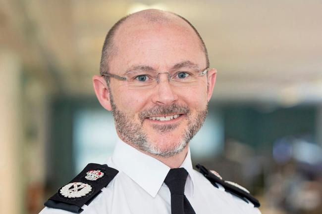 Chief Constable Gavin Stephens