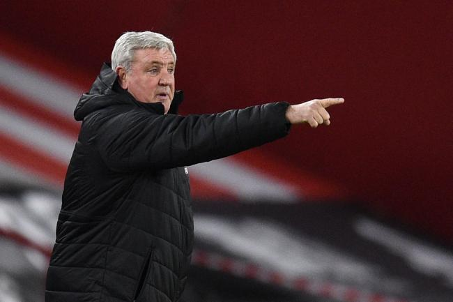 Newcastle head coach Steve Bruce is under fire after a dreadful run of results