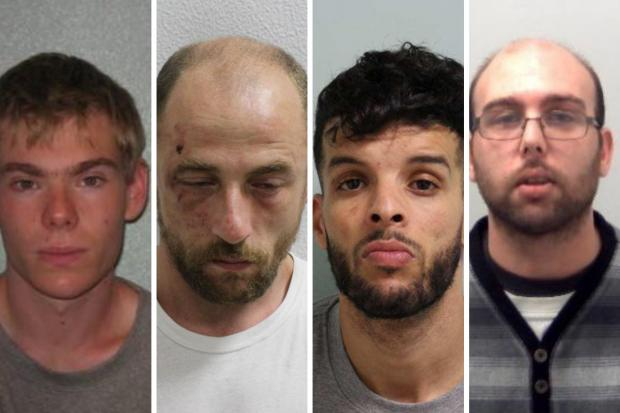 Sex offenders jailed across south east and south west London in 2020.