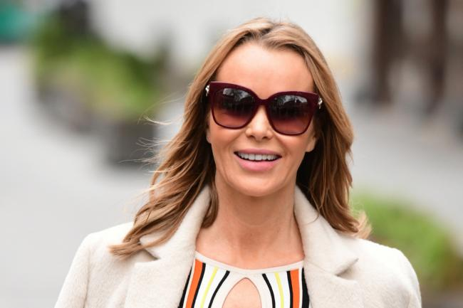 Amanda Holden outside the Global Radio studios in London - PA