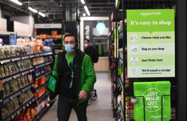 Surrey Comet: The Amazon Fresh grocery store in Ealing, west London. Victoria Jones/PA Wire.