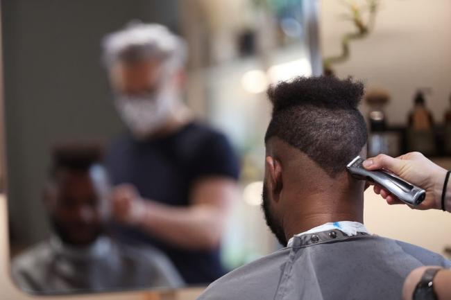 PA Wire - Barbers are now reopen in the UK