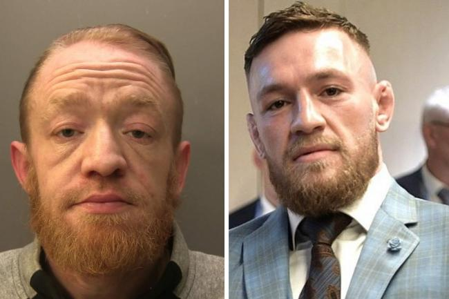 Mark Nye, left, via Surrey Police. Connor McGregor, right, via commons.wikimedia.org