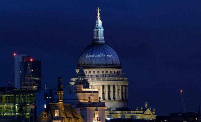 Remember Me is led by St Paul's Cathedral and supported by Charles, the Prince of Wales