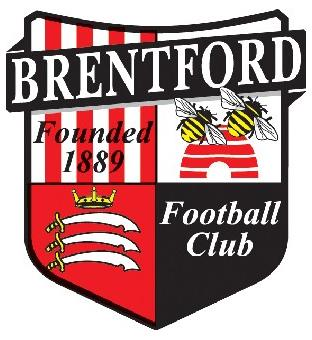 Surrey Comet: Football Team Logo for Brentford