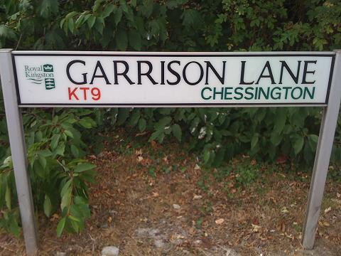 Garrison Lane will be part closed on Sunday