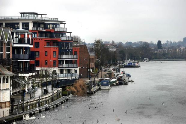 Surrey Comet: The boat was found capsized at Kingston Bridge