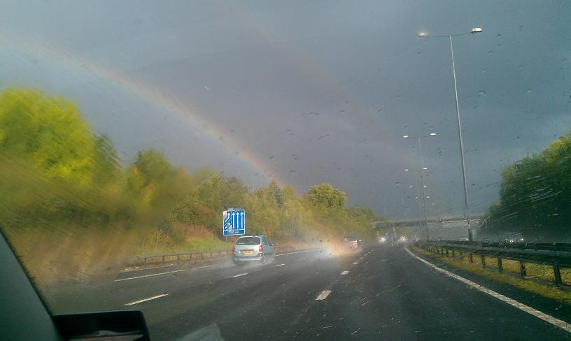 Do You Want To Know Whats At The End Of A Rainbow Surrey Comet