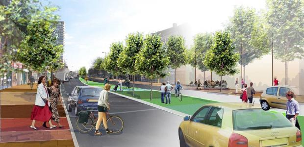 Traders welcome 'green' Tolworth Broadway plans
