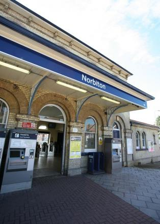 Commuter falls through gap at Norbiton rail staion