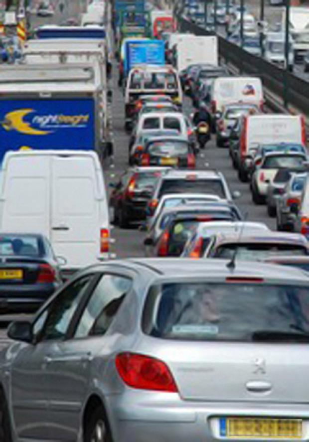 Emergency repairs shut one lane of the A3